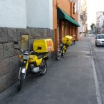 Pollo Campero delivers in Guatemala.