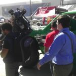 Televisa reporting on the Baja 1000 festival.