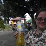 Denise's verision of Mexico always includes Be-Light Mango (calorie free flavored water).