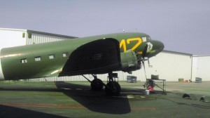 """The D-Day Doll is the """"Queen"""" of the Riverside Commemerative Air Museum."""