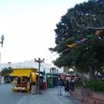 The view of Olivera ST plaza.