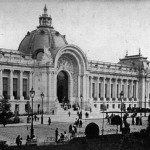A view of the Petite Palais in the year 1900.