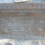Riverside City Landmark Plaque for the Fairmount Park Bandshell.