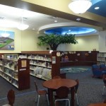 The story corner of the new Marcy Branch Library.