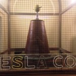 We saw a Tesla Coil. Which was interesting but I didn't get it's usefulness other than it sparked.
