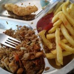 Chinese food was good, still don't understand why it had french fries.