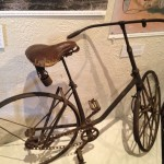 "An early bicycle from the ""City of Riverside in 50 artifacts"" display."