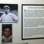 John Tortes Meyers was a Cahuilla Indian and a Riverside native who played in the major leagues from 1908-1917.