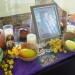 A sample memorial altar.