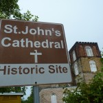 St. John's Cathedral is an easy walk from the city center.