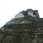This side view of El Castillo kind of reminded me of the old Matterhorn at Disneyland (remember the Sky Ride?).