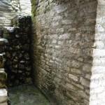 An ancient guard shack.