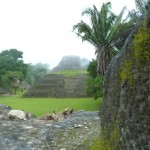 A view to El Castillo from the royal apartments.