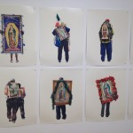 Some of the photographs of Alinka Echeverria. They are of pilgrims to the Basilica de Guadalupe.