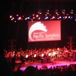 The Pacific Symphony was really good. AJ really liked the Mission Impossible theme song which he recognized from the Minions.
