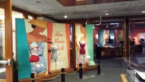 The Rose Marie Reid display at BYU