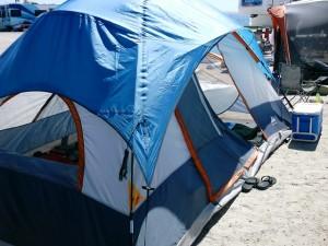 Our Taj Majal tent.