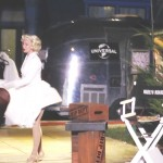 Marilyn Monroe was part of the night time studio tour.