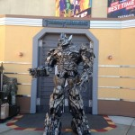Megatron was very impressive. Very tall.