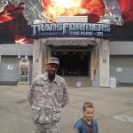 AJ with a NEST (Transformers) operative.