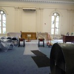 The Assembly room was under refurbishment.