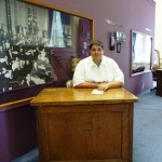 John at a Legislative Desk