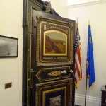 The safe inside the Secretary of the State's office.
