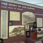 The old Senate chambers holds a little museum on the story of the Nevada Capitol.