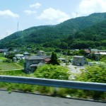 At the base of Mt. Fuji there are many picturesque villages.