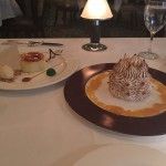 The Creme Brulee and Baked Alaska for dessert.